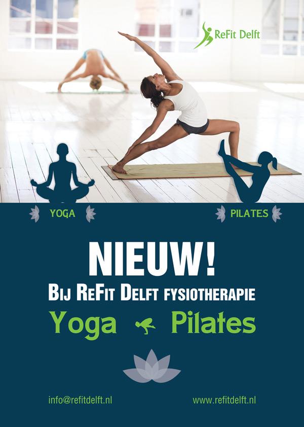 Yoga & Pilates ReFit Delft fysiotherapie