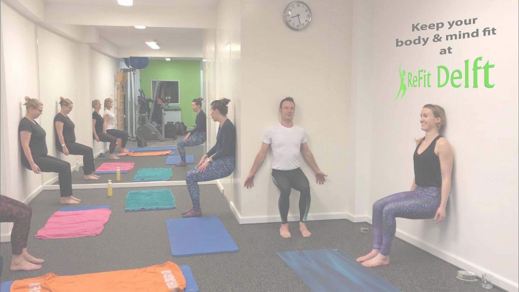 Yoga en pilates ReFit Delft